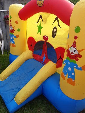 dmuchaniec do skakania zjeżdzalnia kosz dla dzieci ogrodowy happy hop
