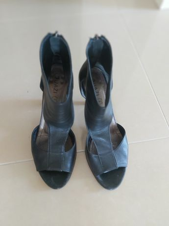 Sandałki skórzane Quazi