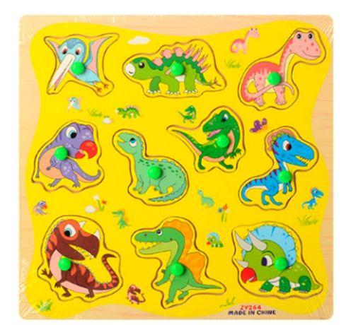 Деревянные вкладыши динозаврики,динозавры,деревянные игрушки,сортер