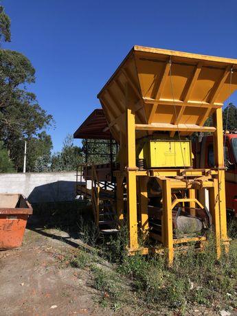 Maquina de separacao de residuos