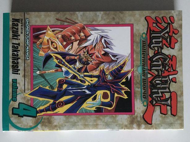 Yu-Gi-Oh Millenium World 4 Shonen Jump Manga