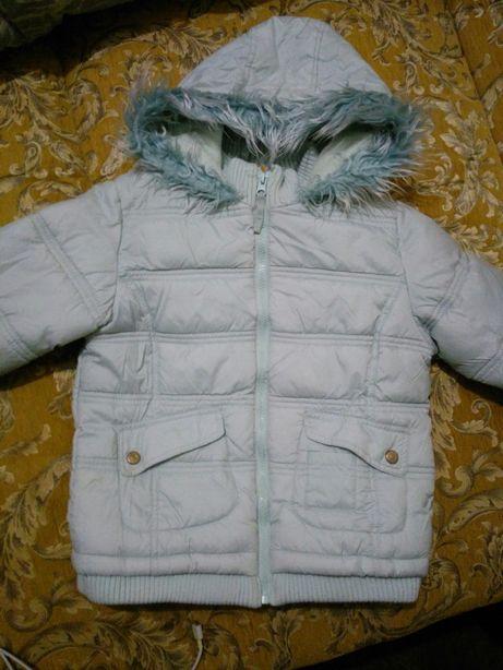 Куртка осенняя для девочки, 128
