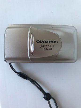 фотоаппарат OLYMPUS lens M (mju:) - 2, zoom 38-80 (отличное состояние)