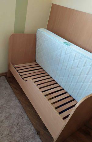 Детская ортопедическая кровать с матрацем 140х70