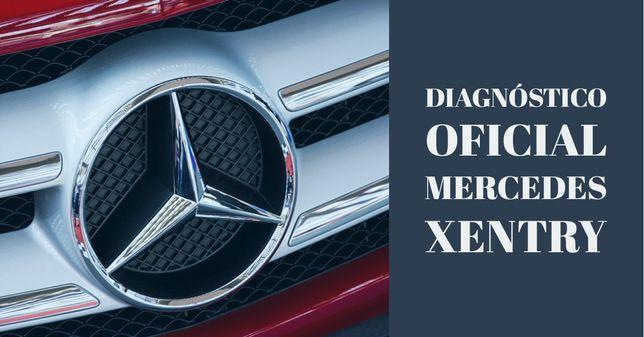 Diagnóstico eletrônico Mercedes