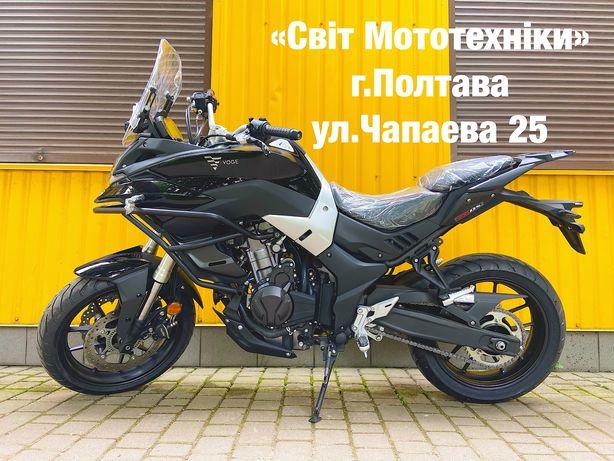 Новый мотоцикл Loncin VOGE 500DS ABS 2021-года honda benelli