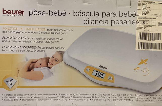 Продам весы детские Beurer BY 80