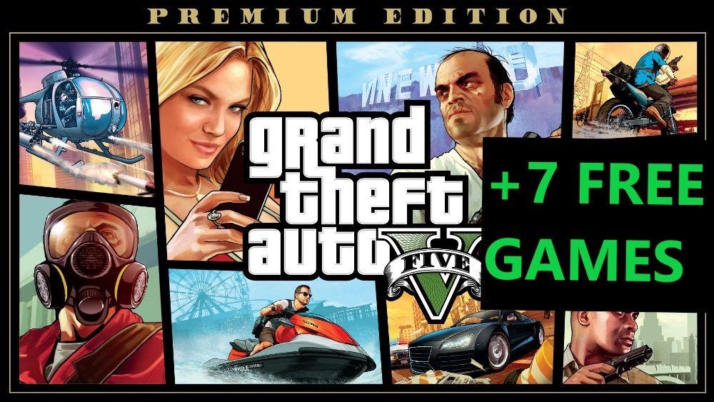 GTA 5 Premium edition  Watch Dogs 2   FM 2020   +5 gier   NOWE   PC Katowice - image 1