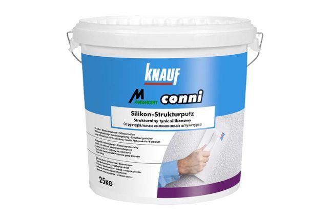 Knauf CONNI S biały - Tynk silikonowy 25kg