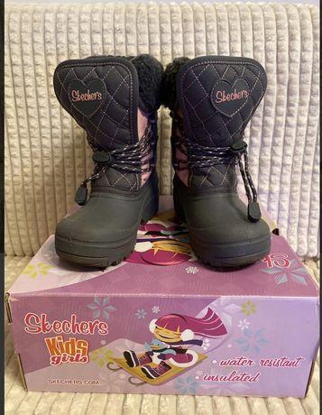 Классные ботинки Skechers