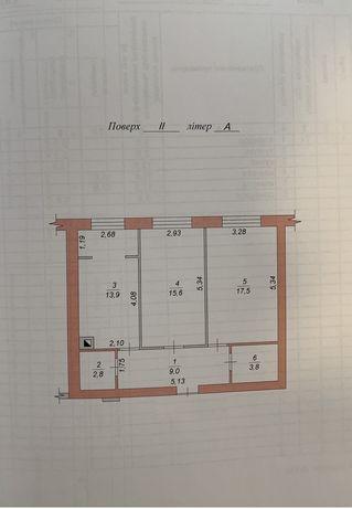 Продам 2х комнатную квартиру в новострое ЖК Вильский