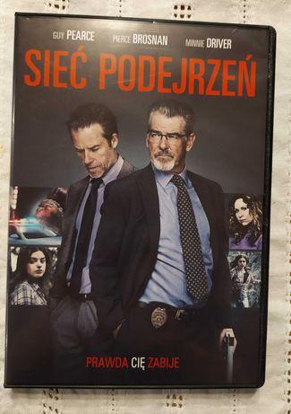 Sieć podejrzeń - Pierce Brosnan - film DVD stan idealny