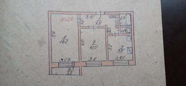 Продам 2х комнатную квартиру в Южноукраинске