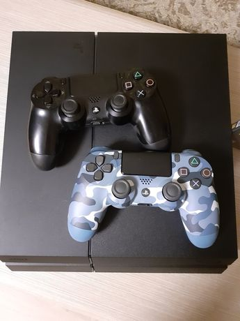 Ps4 Fat2 1Tb Cush12 Playstation 4 на гарантии
