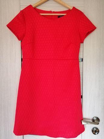 Sukienka Mohito M czerwona z podszewką 38 cudna krótka