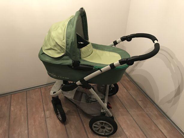 Wózek dziecięcy IMPLAST BolderSD ecoLINE 2w1 gondola spacerówka torba