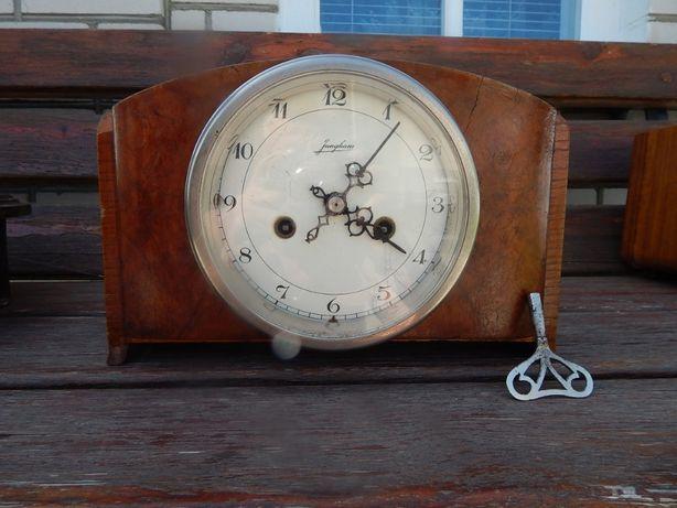 Часы каминные (настольные с боем рабочие) JUNGANS