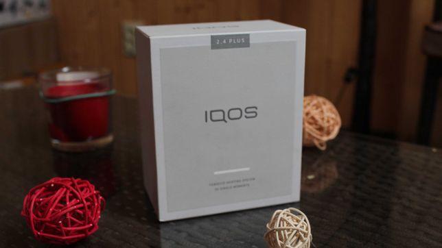 iqos 2.4 plus комплект в хорошем состояние