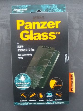 Szkło Panzer Glass iPhone 12 /12Pro PRIVACY