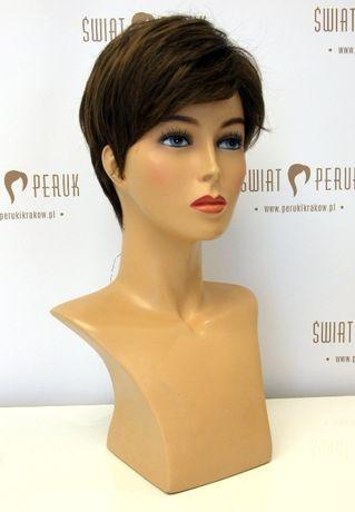 Peruka z włosów syntetycznych krótka Pińczów