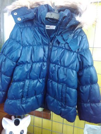 Теплая куртка HM, р 98