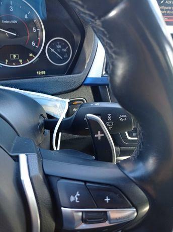 Patilhas velocidades volante BMW M