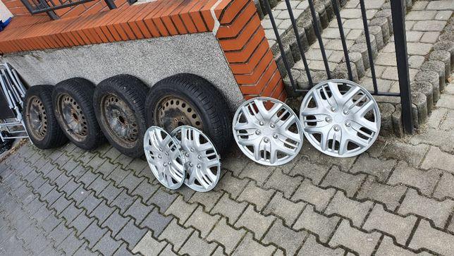 Zimowe opony + kola 205/55 R16 94H 5X108 6.5J