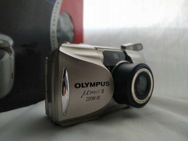 Фотоаппарат Olympus mju ii zoom 80