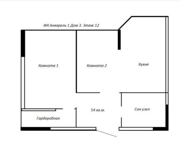 Просторная 2-х комнатная на Таирова