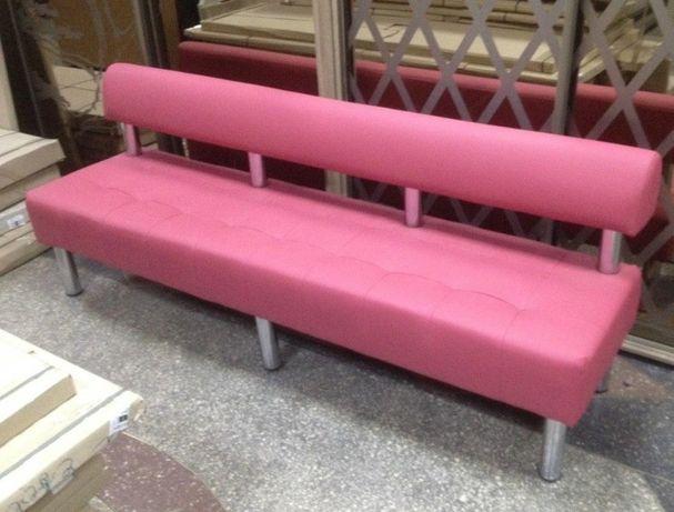 Офисный диван без подлокотников - 2000 (мм).