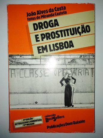 Livro Droga e Prostituição em Lisboa