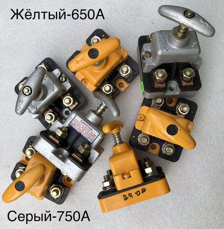 Выключатель массы механический PECO, HELLA (650A, 750А 12-24V)