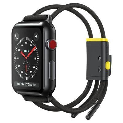 Bracelete Baseus Apple Watch Let`S Go Series 38Mm / 40Mm Smartwatch - Cinza / Amarelo