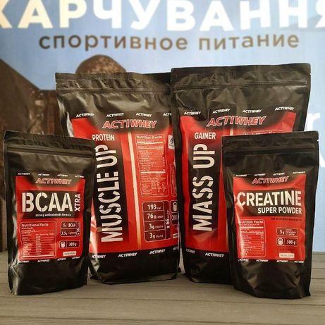 ХИТ Продаж! Протеин 2 кг+Гейнер 2 кг+ВСАА+Креатин!!!