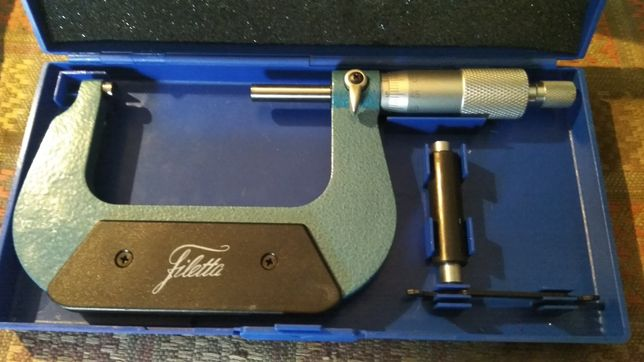 Микрометр Filettа 50-75мм, 0.01мм