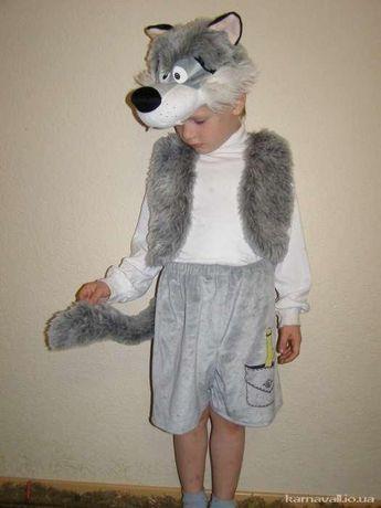 Новорічний костюм вовчика