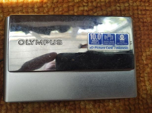 Фотоаппарат Olympus Mju 1040 silver 10mp