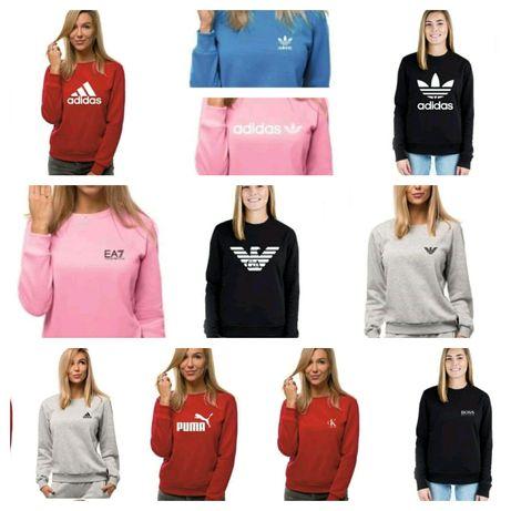 Bluzy damskie z logo Levis Nike Tommy kolory S-XL!!!