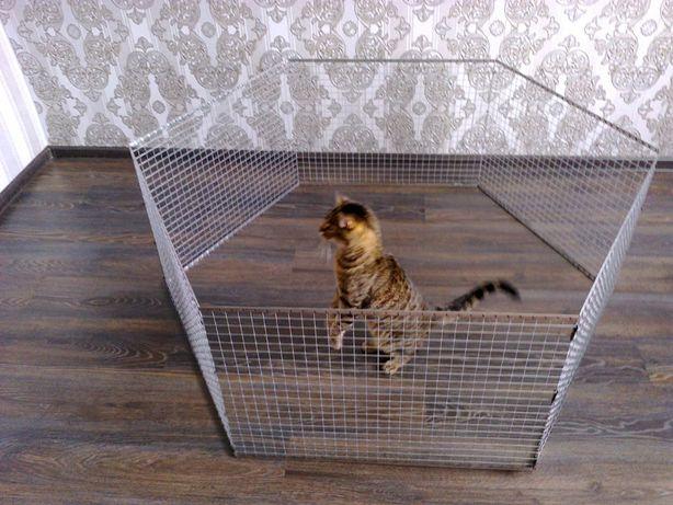 Вольер манеж клетка для маленьких собак щенков кроликов котят и др.