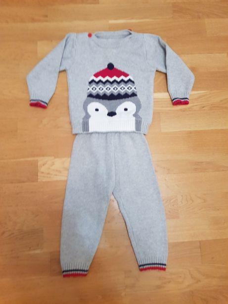 Красивый детский костюм Пингвин, 2 года, 90 см