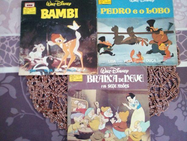 Livros Antigos Walt Disney