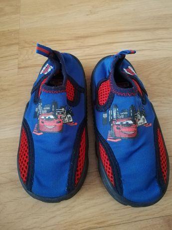 Kapcie paputki tenisówki sandały obuwie buty do wody cars