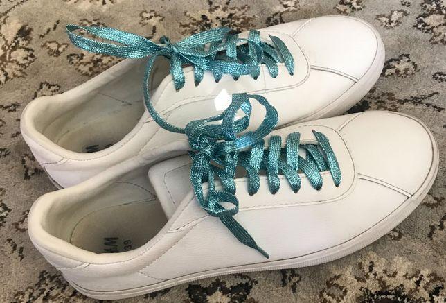 Женские H&M кроссовки кеды сникерсы 39 разм