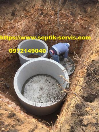 Копка траншеи, ямы, выгребные ямы, фундаменты