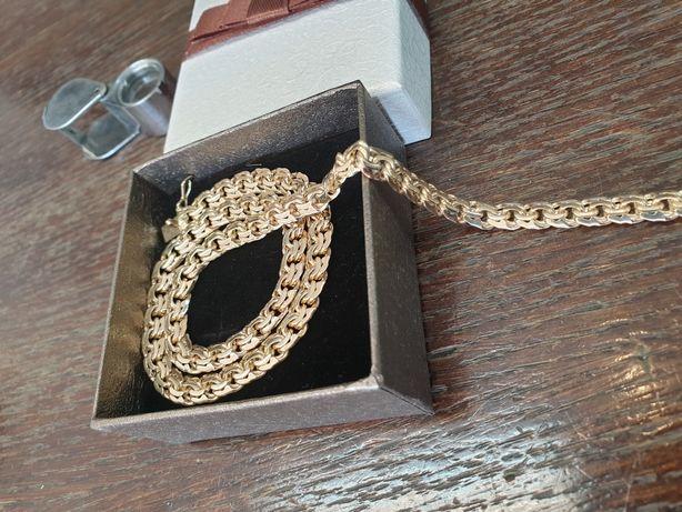 Łańcuszek złoty pr.585 waga 50 gramów wzór galibardi