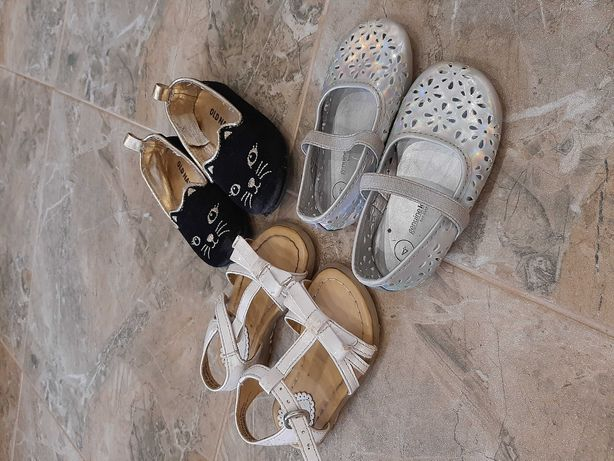 Детская обувь три пары