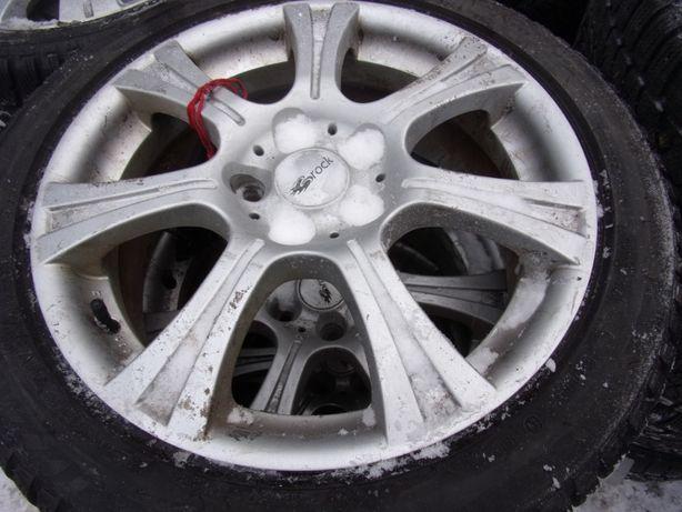 koła aluminiowe zimowe 5x114,3 Reno Nissan 225/45/17