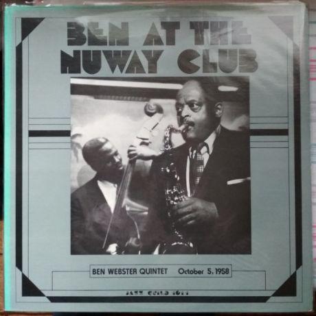 Пластинка Ben Webster Quintet - Ben at the Nuway Club (Jazz Guild, 195