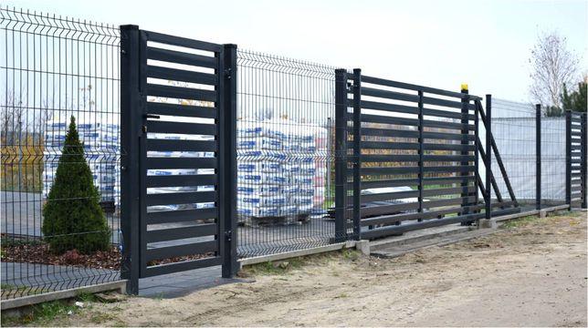Ogrodzenia, podmurówka prefabrykowana, ogrodzenia panelowe, panele