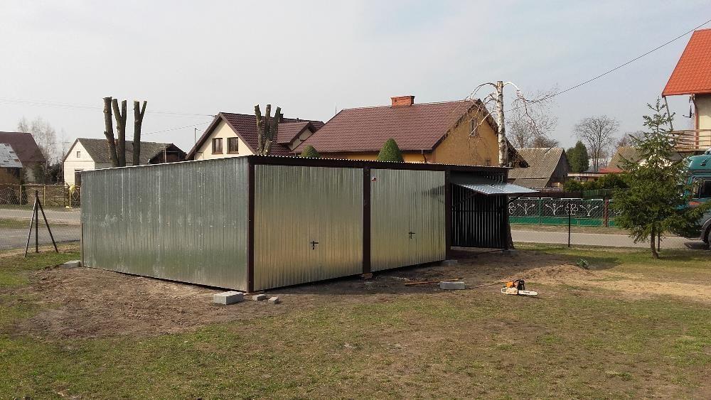 garaże blaszane, 9 x 5, bramy, profil, producent garaży, wiat, hal,